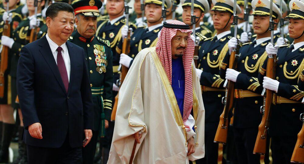 Suudi Arabistan Kralı Selman Bin Abdülaziz- Çin Devlet Başkanı Şi Cinping