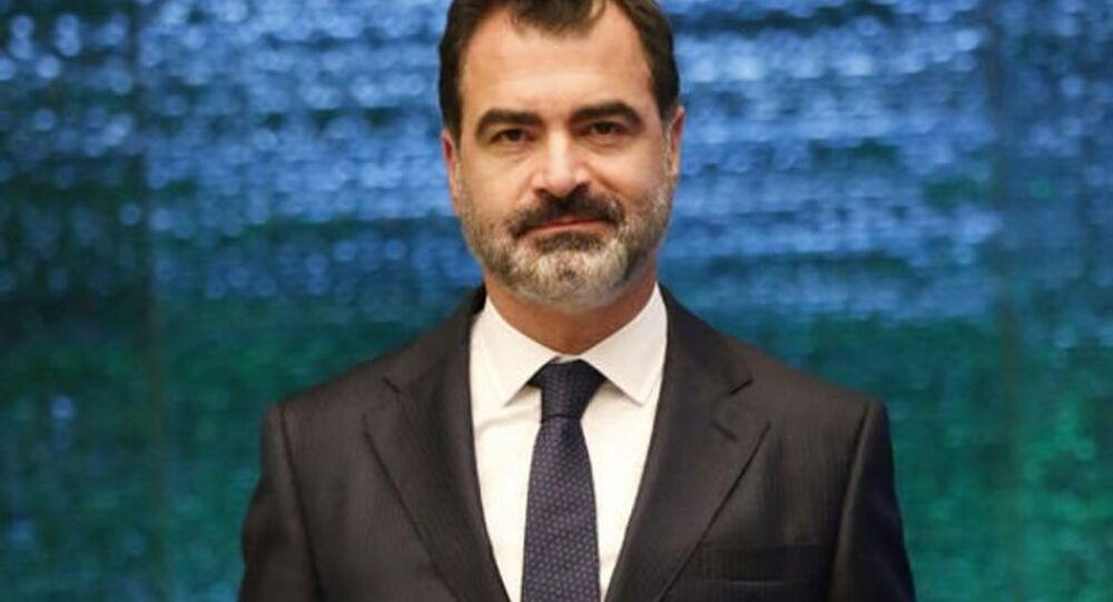 Türkiye Varlık Fonu (TVF) Yönetim Kurulu Başkanı Mehmet Bostan
