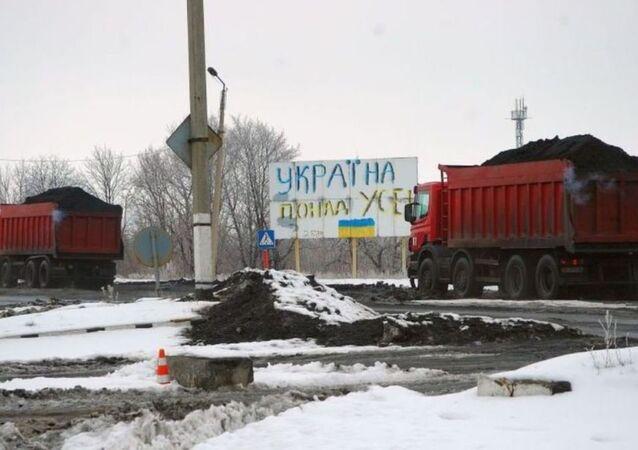 Ukrayna'dan Donbass'a ulaşım ablukası