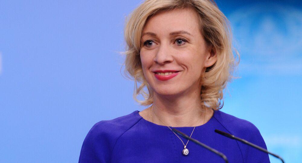Rusya Dışişleri Bakanlığı Sözcüsü Mariya Zaharova