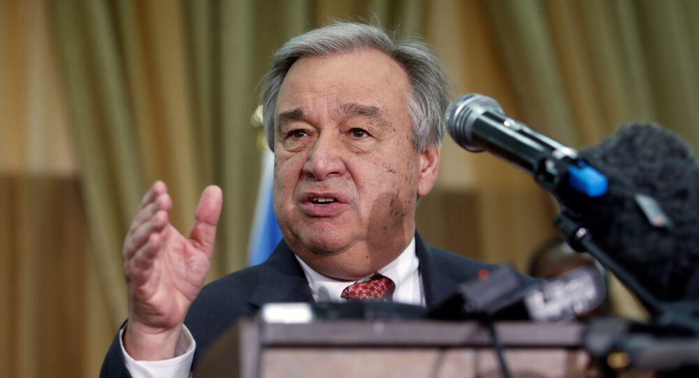 BM Genel Sekreteri Antonio Guterres