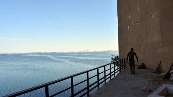 Fırat nehri- Suriye ordusu - Sputnik Türkiye