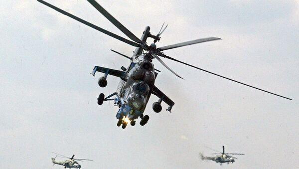 Mi-24 helikopter - Sputnik Türkiye