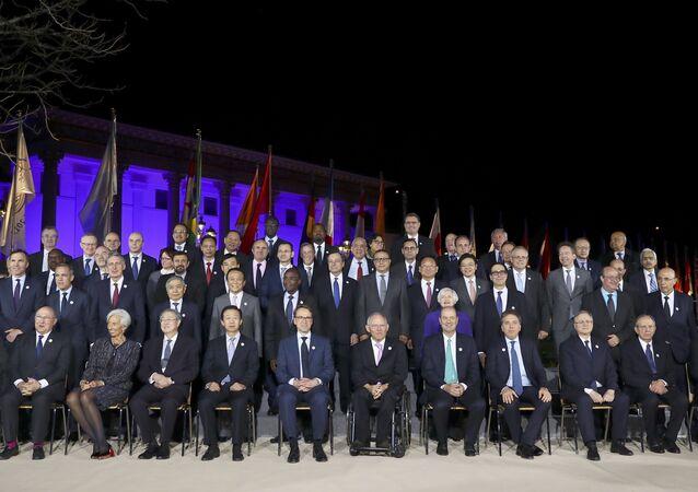 G-20  ülkelerinin maliye bakanları ve merkez bankası yöneticileri