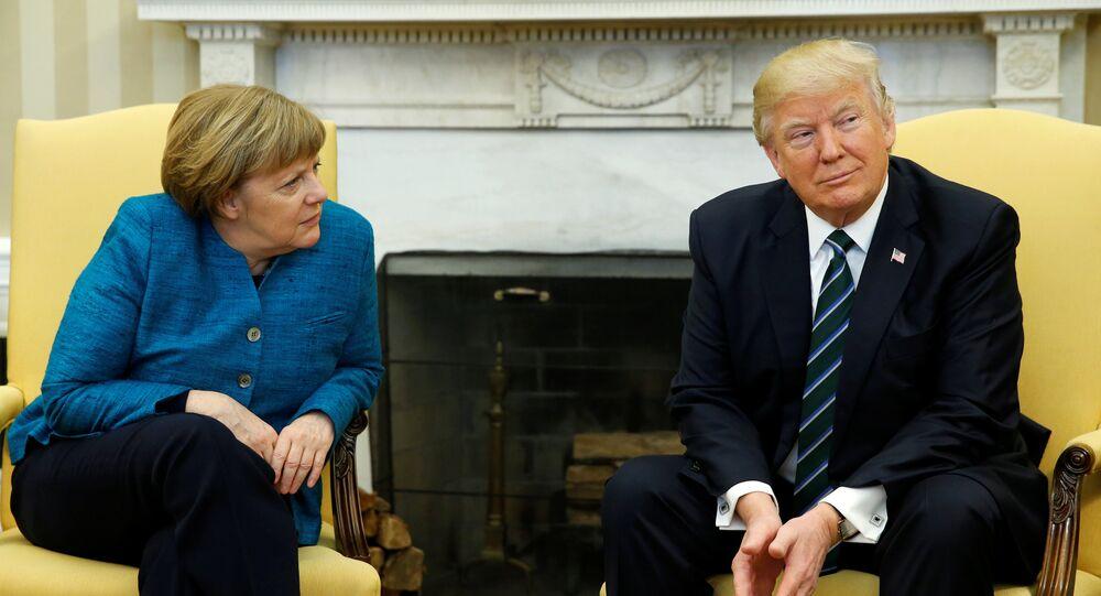 Donald Trump - Angela Merkel