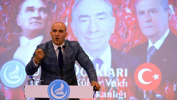 Ülkü Ocakları Genel Başkanı Olcay Kılavuz - Sputnik Türkiye