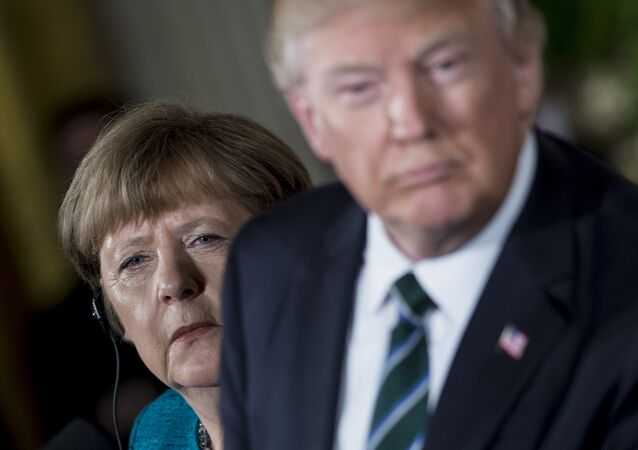 Angela Merkel - Donald Trump