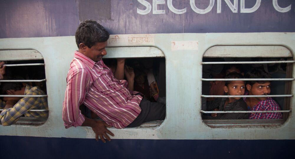 Hindistan'da bir tren yolculuğu