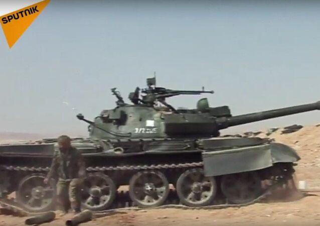 Suriye ordusu Humus'ta IŞİD'e karşı operasyonu sürdürüyor