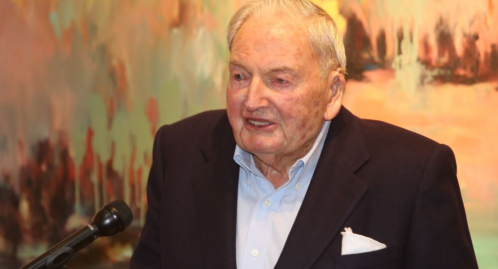 ABD'li milyarder David Rockefeller