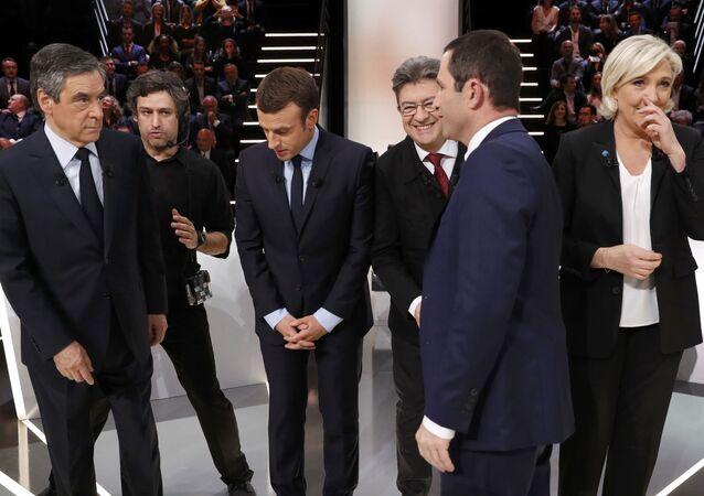 Fransa cumhurbaşkanlığı seçimleri /cumhurbaşkanı adayları