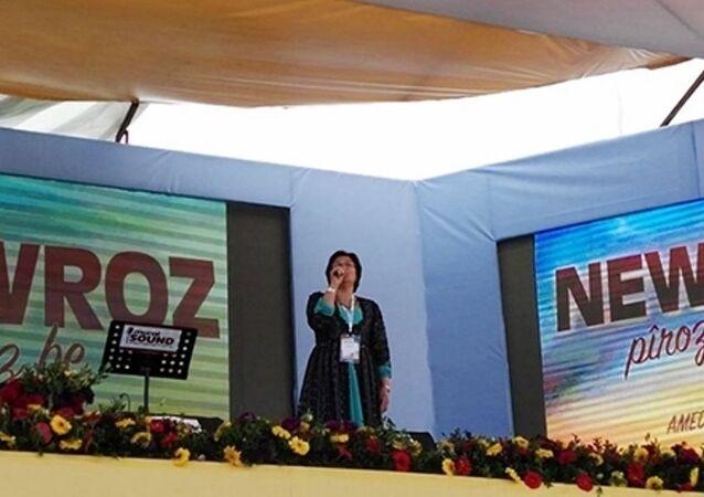 Demokratik Toplum Kongresi (DTK) Eşbaşkanı Leyla Güven