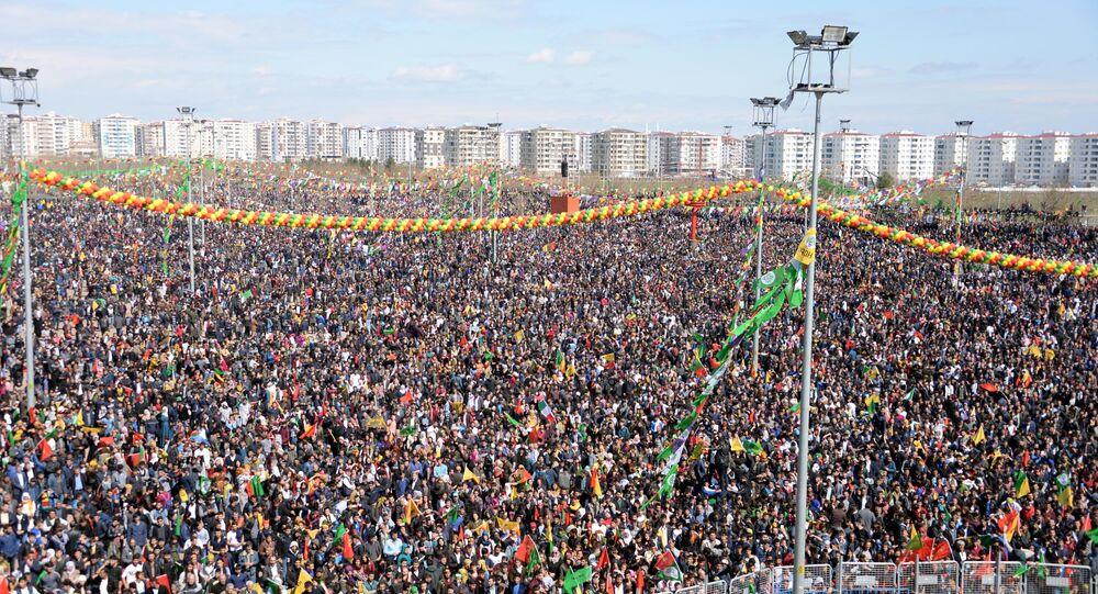 Diyarbakır'daki Nevruz kutlamaları