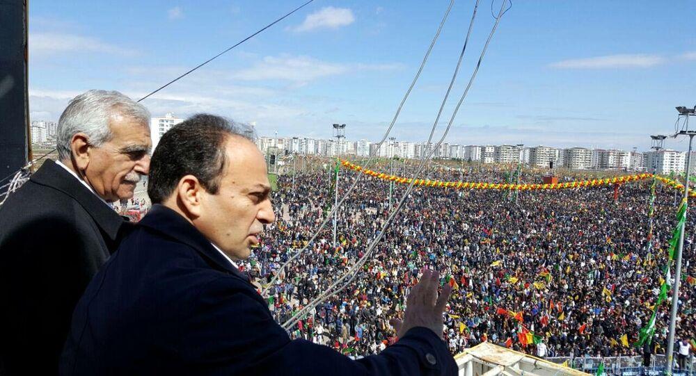Ahmet Türk ve HDP Şanlıurfa milletvekili Osman Baydemir