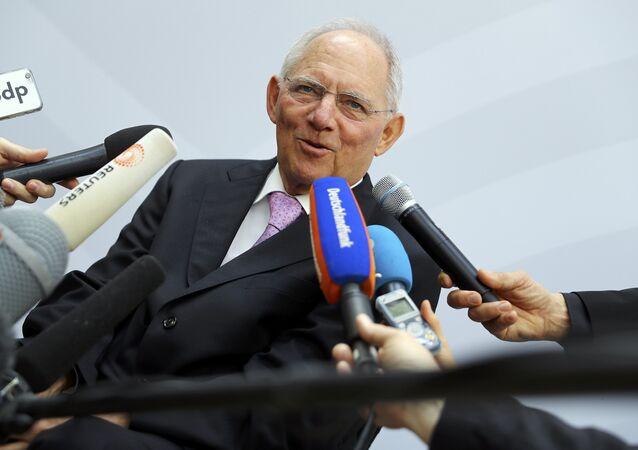 Alman Maliye Bakanı Wolfgang Schaeuble
