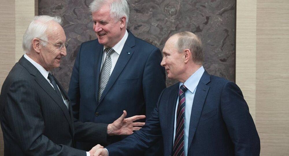 Stoiber Putin