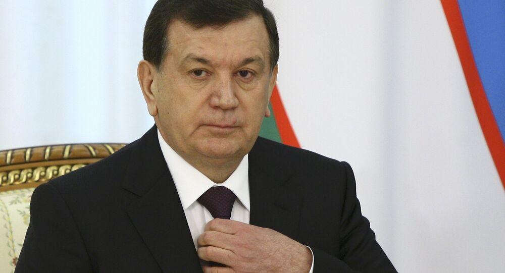 Şevket Mirziyoyev