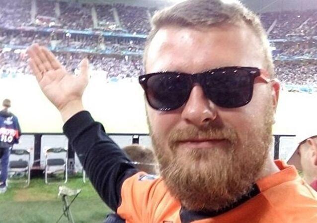 Rus taraftar Aleksey Marvin