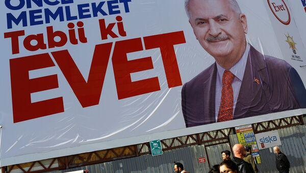 AK Parti / Binali Yıldırım / Referandum - Sputnik Türkiye