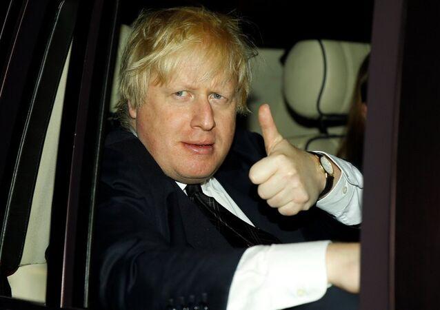 İngiltere Dışişleri Bakanı Boris Johnson Antalya'da