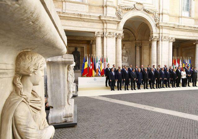 Roma'daki AB zirvesi