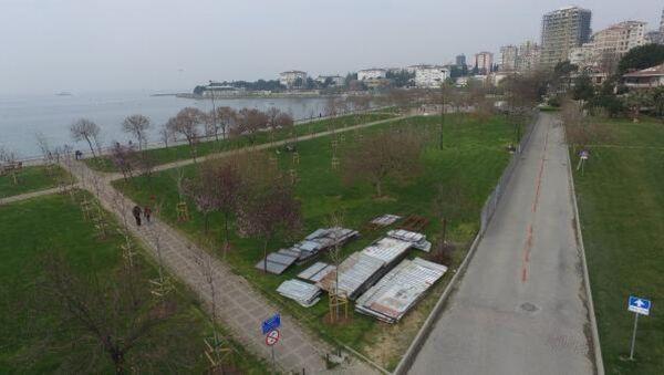 Fenerbahçe sahilinde projenin yapılacağı alan - Sputnik Türkiye