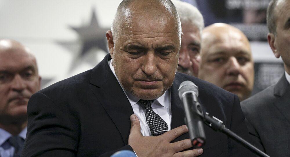Eski Bulgaristan Başbakanı ve GERB lideri Boyko Borisov