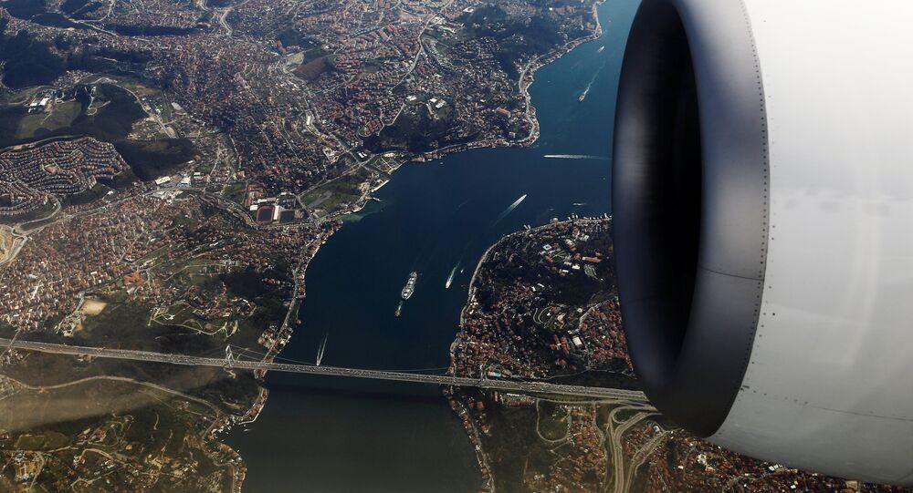 İstanbul Boğazı / Fatih Sultan Mehmet Köprüsü