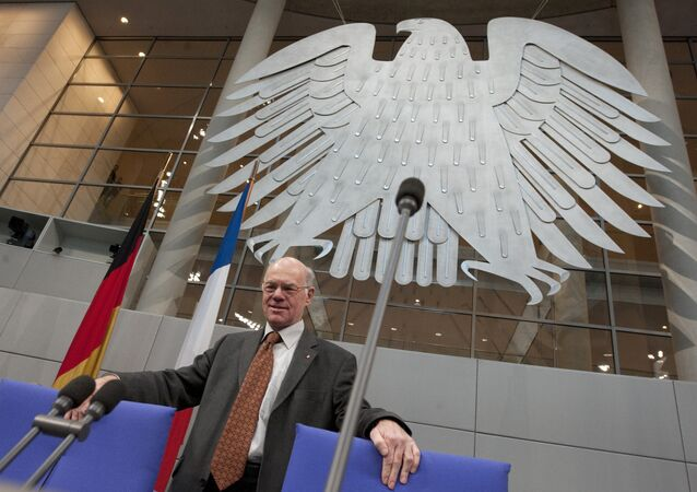 Almanya Federal Meclis Başkanı Norbert Lammert