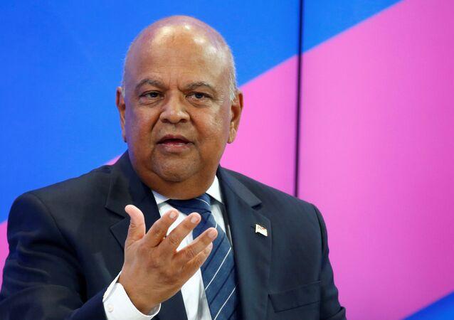 Güney Afrika Maliye Bakanı Pravin Gordhan