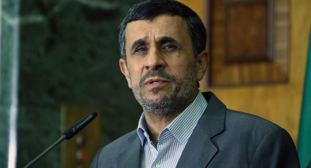 Eski İran Cumhurbaşkanı Mahmud Ahmedinejad