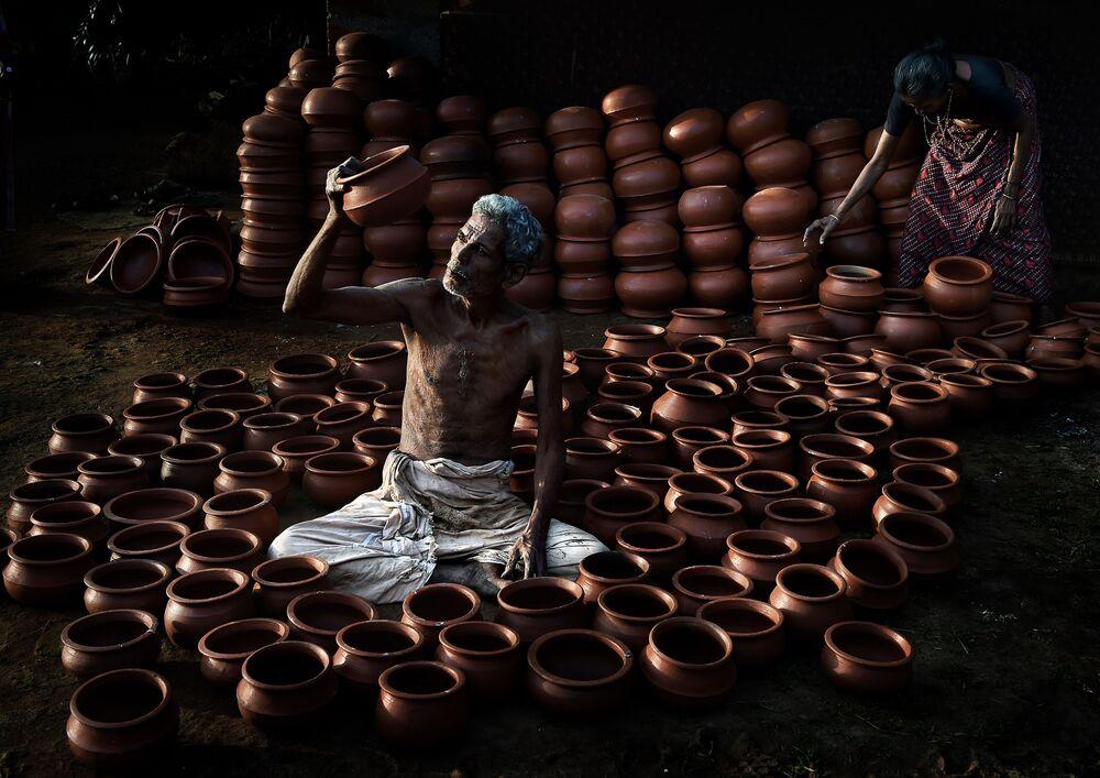 Katarlı fotoğrafçı Firos Syed'in 'Rounded life' adlı çalışması