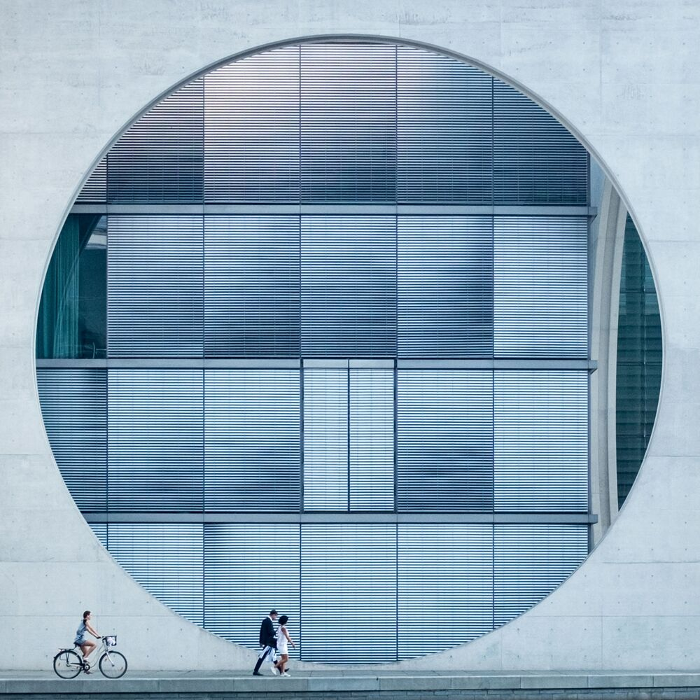İngiliz fotoğrafçı Tim Cornbill'in 'Oculus' adlı çalışması