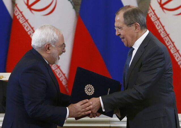 İran Dışişleri Bakanı Cevad Zarif ve Rusya Dışişleri Bakanı Sergey Lavrov