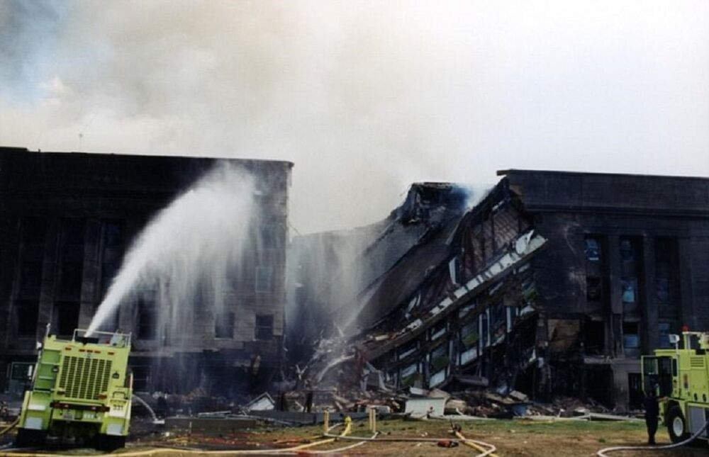 FBI, 11 Eylül'de Pentagon'a yapılan saldırının fotoğraflarını ilk kez yayınladı