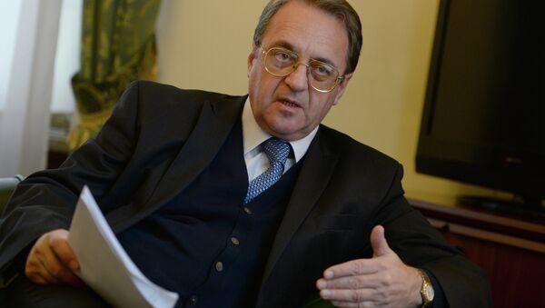 Russian Deputy Foreign Minister and Special Presidential Representative for the Middle East Mikhail Bogdanov. (File) - Sputnik Türkiye
