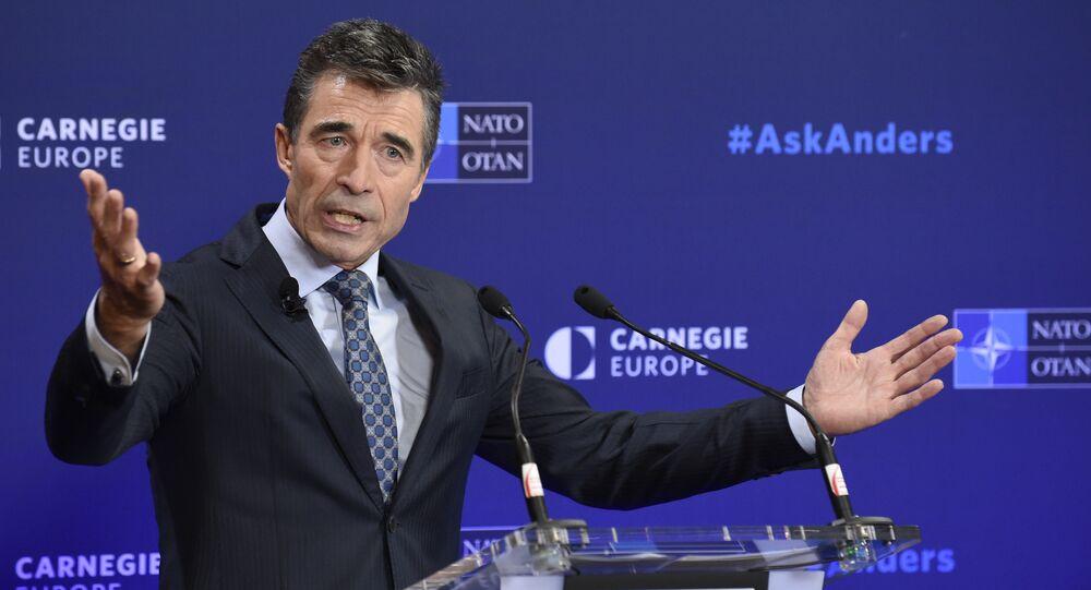 NATO General Secretary Anders Fogh Rasmussen (File)
