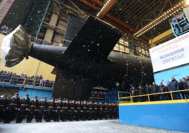Yasen sınıfı dördüncü nesil Rus nükleer denizaltısı Kazan