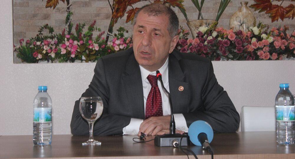 Gaziantep bağımsız milletvekili Ümit Özdağ