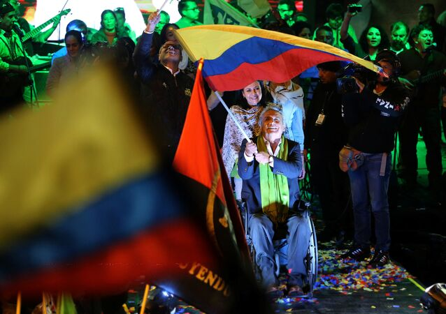 Ekvador devlet başkanlığına seçilen Lenin Moreno