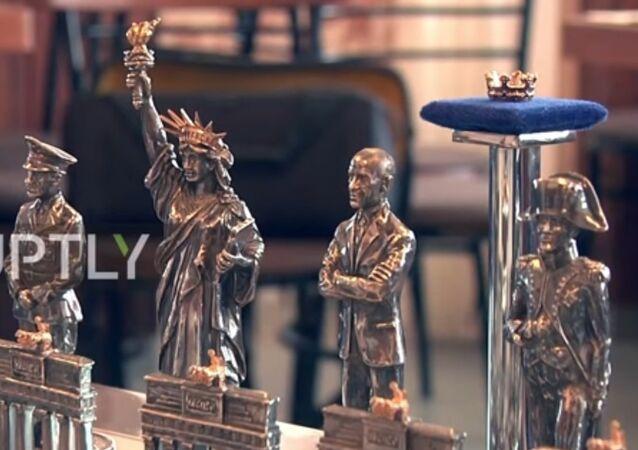 Putin ve Obama satranç tahtasında karşı karşıya geldi