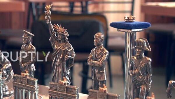 Putin ve Obama satranç tahtasında karşı karşıya geldi - Sputnik Türkiye