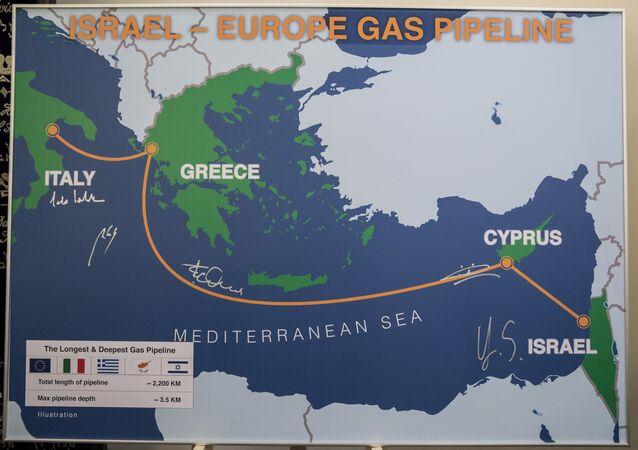 İsrail-Avrupa Doğalgaz Boru Hattı