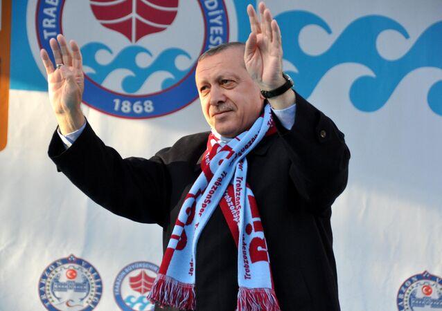 Cumhurbaşkanı Recep Tayyip Erdoğan, Trabzon'da