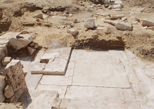 Mısır'da yeni bir piramidin kalıntıları bulundu