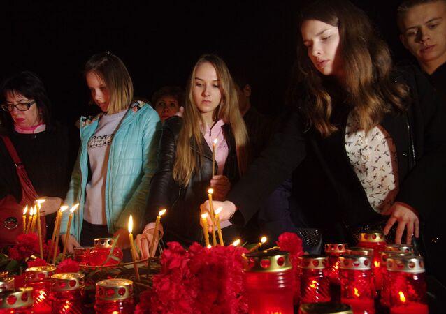 St. Petersburg metro saldırısında ölenler anılıyor