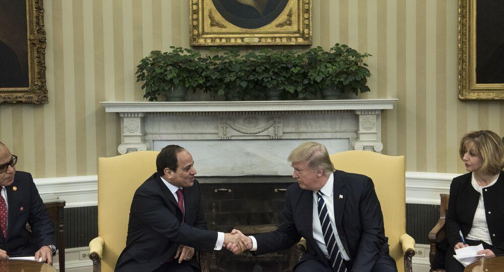 Donald Trump - Abdulfettah el Sisi