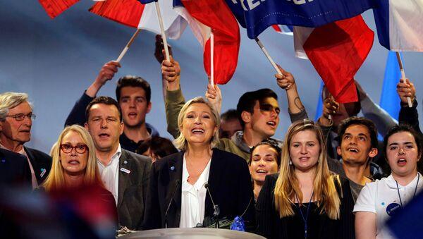 Fransız cumhurbaşkanı adayı Marine Le Pen - Sputnik Türkiye