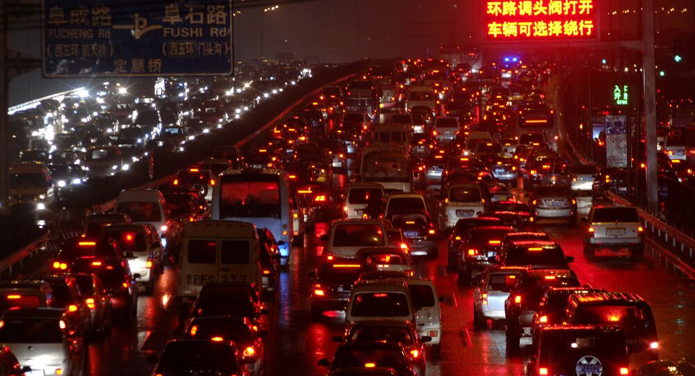Çin'de trafik sorunu