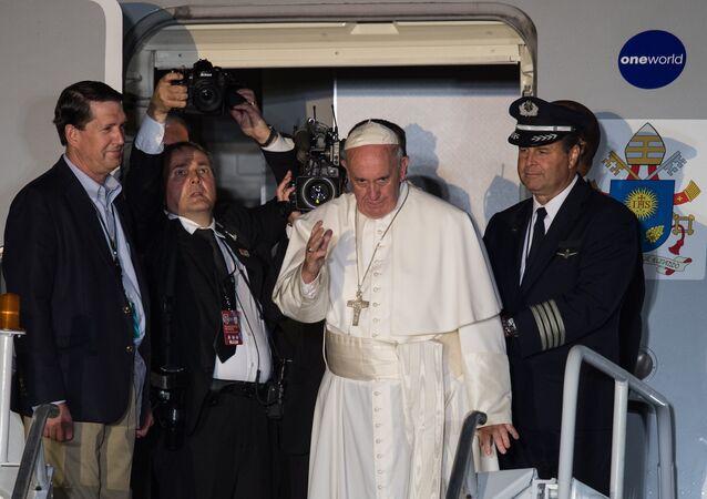 Papa Francis'in 2015'teki Philadelphia ziyareti